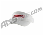 Raven Paintball Flex Fit Visor - White