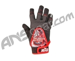 Redz 2010 Players Paintball Gloves - Red