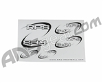 RPS Paintball Logo Sticker Sheet