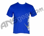 RPS Large Paintball T-Shirt - Blue