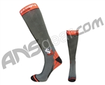 Style Supply S2 Function Knee High Runway Compression Socks - Grey/Red