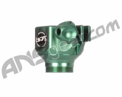 Shocktech Ion Low Rise Clamping Feed Neck - Green