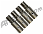 SLY Paintball 4 Piece Barrel Back Kit - Old Angel - Titanium Grey
