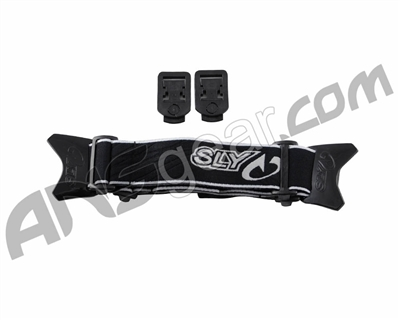 Sly Profit Replacement Goggle Straps - Black