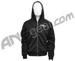 Sly Pro-Merc Zip-Up Hoodie Sweatshirt - Black