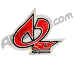 Sly Paintball Sticker - Equipment - Red