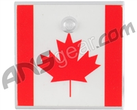 Stinger Paintball Designs Halo Too/Halo B Back Plate - Canada Flag