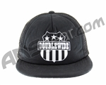 Special Ops Double Wide Logo Cap - Black