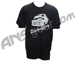 Special Ops Double Wide Paintball T-Shirt - Black
