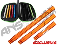 Smart Parts Freak XL Barrel Complete Kit - Autococker - Sunburst Orange