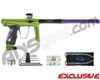 SP Shocker RSX Paintball Gun - Slime/Purple/Black