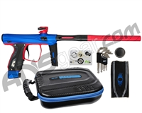 SP Shocker XLS Paintball Gun - Blue/Red