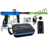 SP Shocker XLS Paintball Gun - Blue/Slime