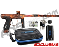 SP Shocker XLS Paintball Gun - Polished Acid Wash Orange
