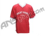 Smart Parts V-Neck T-Shirt - Red