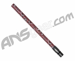 "Stiffi One Piece Carbon Fiber Barrel - Autococker Thread 14"" - Red Skulls"