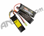 Tenergy Lithium-Ion Polymer 11.1v 1600mAh 20C Rechargeable Nunchuck Battery Pack