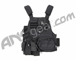 Tiberius Arms EXO Tactical Assault Paintball Vest - Black