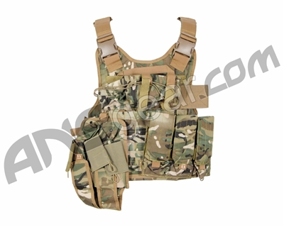 Tiberius Arms EXO Tactical Assault Paintball Vest - TriCam