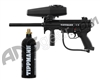 Tippmann A5 Semi Auto Paintball Gun w/ FREE 20 oz CO2 Tank - Black