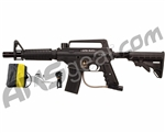 Tippmann US Army Alpha Black Tactical Paintball Gun - Black