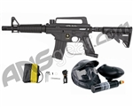 Tippmann US Army Alpha Black Tactical Paintball Gun Power Pack