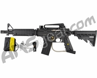 Tippmann US Army Alpha Black Elite Tactical Paintball Gun with E-Trigger - Black