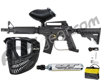 Tippmann US Army Alpha Black Elite Tactical Paintball Gun Power Pack