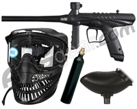 Tippmann Gryphon FX Paintball Gun Power Pack w/ 9oz Reusable Co2 Tank - Carbon Fiber