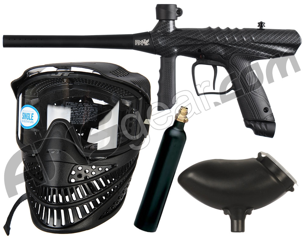 how to put a co2 tank on a paintball gun