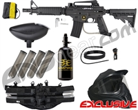 Tippmann US Army Alpha Black Elite Tactical Legendary Paintball Gun Package Kit