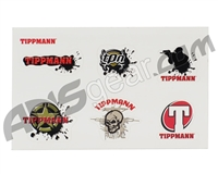 Tippmann Sticker Sheet - 6 Stickers