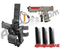 Tippmann TiPX Trufeed Deluxe Pistol Kit - Dark Earth/Dark Lava