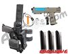 Tippmann TiPX Trufeed Deluxe Pistol Kit - Dark Earth/Dust Teal