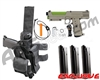 Tippmann TiPX Trufeed Deluxe Pistol Kit - Dark Earth/Sour Apple