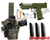 Tippmann TiPX Trufeed Deluxe Pistol Kit - Olive/Dust Silver