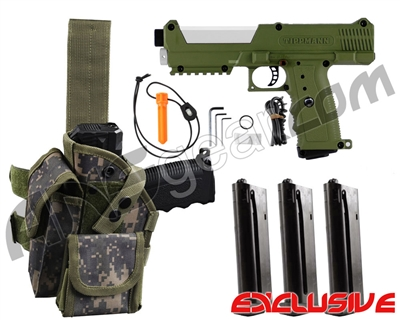 Tippmann TiPX Trufeed Deluxe Pistol Kit - Olive/Storm Trooper