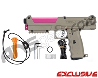 Tippmann TiPX Trufeed Paintball Pistol - Dark Earth/Dust Pink