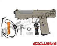 Tippmann TiPX Trufeed Paintball Pistol - Dark Earth/Dust Silver