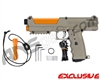 Tippmann TiPX Trufeed Paintball Pistol - Dark Earth/Sunburst Orange