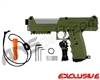 Tippmann TiPX Trufeed Paintball Pistol - Olive Green/Dust Silver
