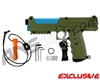 Tippmann TiPX Trufeed Paintball Pistol - Olive Green/Dust Teal