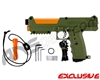 Tippmann TiPX Trufeed Paintball Pistol - Olive Green/Sunburst Orange