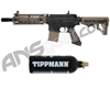 Tippmann TMC Paintball Gun w/ FREE 20 oz CO2 Tank - Black/Tan