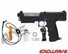 Tippmann TPX Trufeed Paintball Pistol - Black/Dust Silver