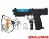 Tippmann TPX Trufeed Paintball Pistol - Black/Dust Teal