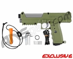 Tippmann TPX Trufeed Paintball Pistol - Olive/Dust Silver