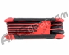 8-Pc. Folding Hex Key Wrench Set - Metric