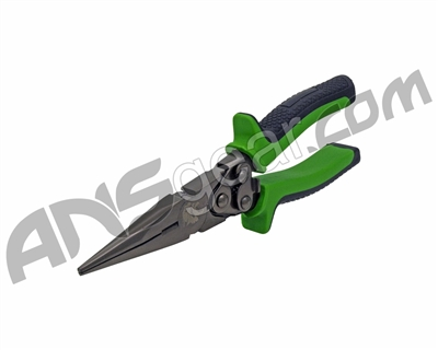 "8"" Dual Joint Long Nose Pliers"