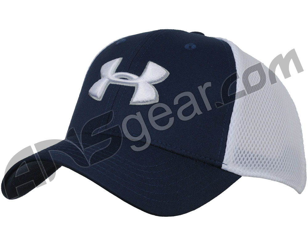 a56a8337429 Under Armour Golf Mesh Stretch 2.0 Hat - Academy White (409)
